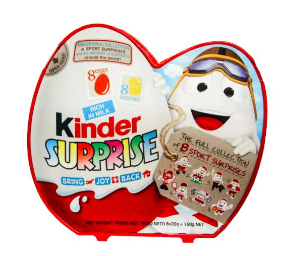 Kinder Surprise T8 Icon 160g