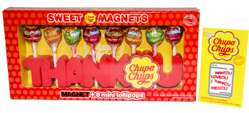 Chupa Chups Sweet Magnets 8p