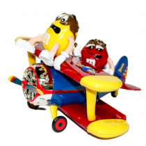 M&M's Airplane Dispenser 1pc