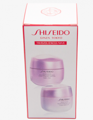 SHISEIDO White Lucent DAY & Night Gel Set