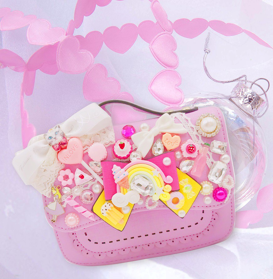 女童精品手袋-蝴蝶