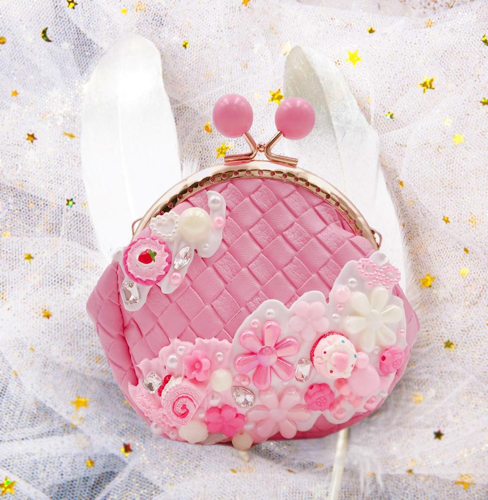 女童精品手袋—粉紅色