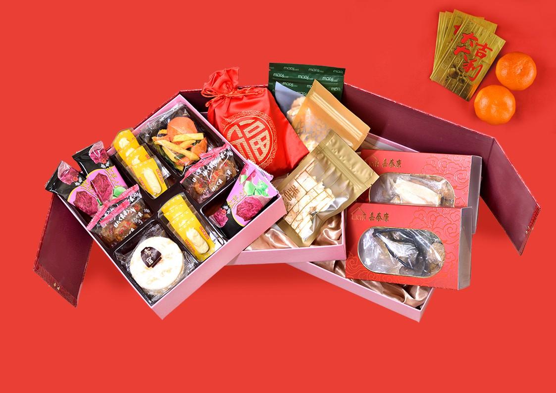 賀年禮盒 - 步步高昇  (三層)
