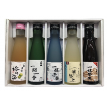 久保田禮盒180ml五支裝