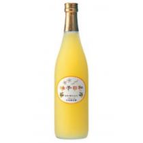 浜福鶴柚子日和清酒100%成熟柚子720ML