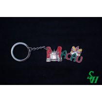 NO. 02010017 金屬鎖匙扣 -  MACAU主題款: 媽祖閣