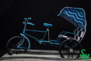 NO.  07010001 三輪車 - 澳門傳統特色交通工具