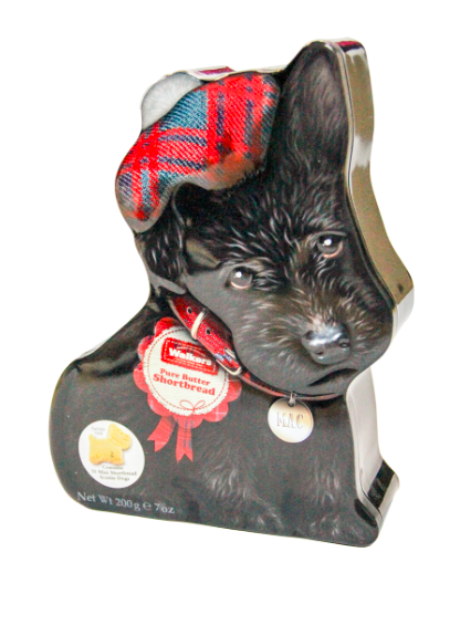 蘇格蘭皇家小狗造型餅乾禮盒 200克