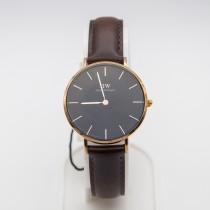 Classic Black St Mawes (Rose Gold) 36mm