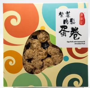澳錦記紫菜肉鬆蛋卷260克