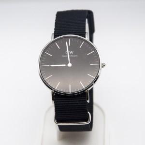 Classic Black Cornwall (Silver) 36mm