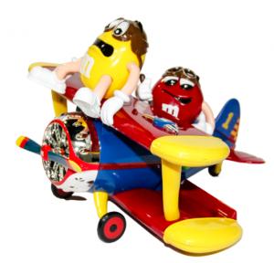 M&M'S 飛機造型糖果機(不含朱古力)