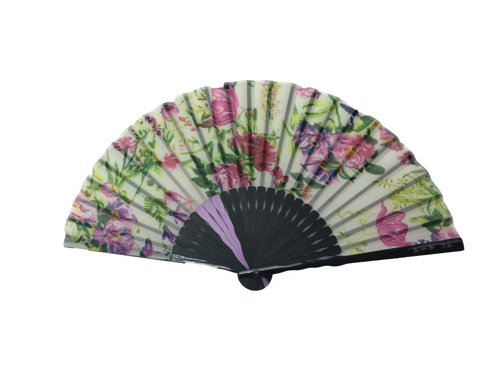 NO.520 Chiffon folding fan