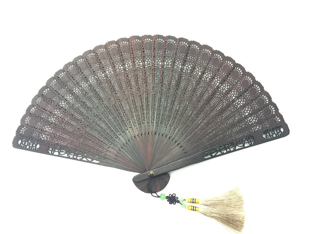 NO.230 High quality Rosewood folding fan