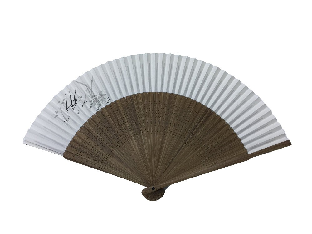 NO.602 Folding fan with special paper for hand-drawn paintings