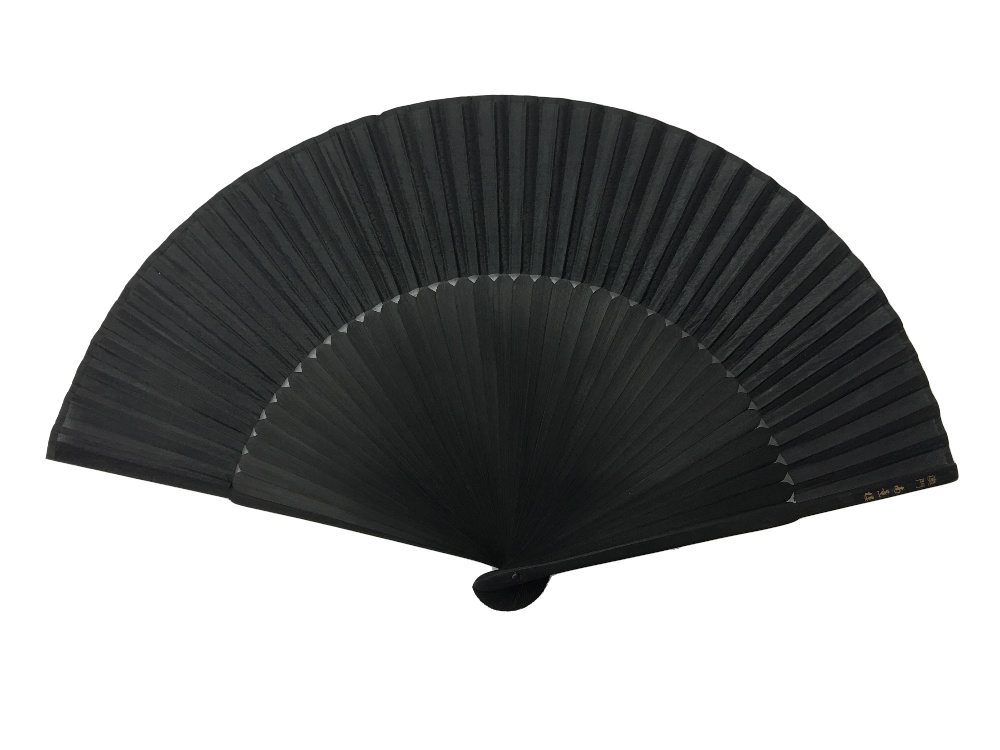 NO.511 Real silk folding fan with a variety of coloured fabrics for fashion matching