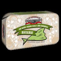 La Gondola Codfish/Bacalhau in Organic Extra Virgin Olive Oil and Garlic