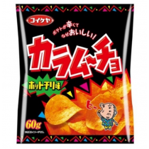 KOIKEYA spicy pepper-flavored potato chips