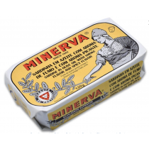Minerva Spiced Smoked Sardines in Olive Oil