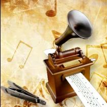 Nostalgic Hand Crank Music Box
