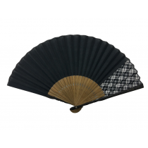 NO.523 Delicate cloth folding fan