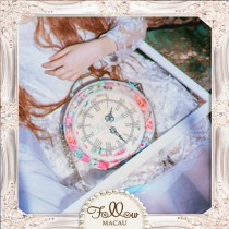 Dream Garden – Clock Bag