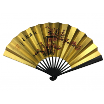NO.626 Hand - painted folding paper fan
