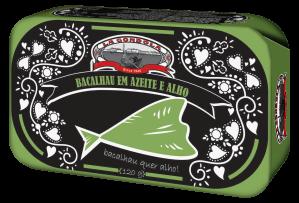 La Gondola Codfish/Bacalhau in Olive Oil and Garlic