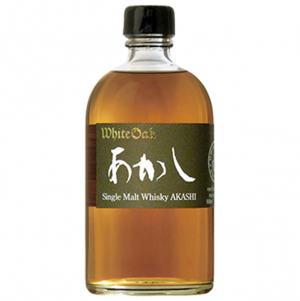 Akashi White Oak Single Pure Malt Whisky 500ml