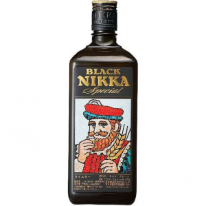 BLACK NIKKA Black One Shirley Barrel Special Whisky 42 Degrees 720ML