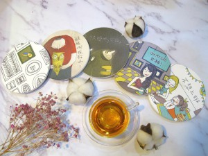 """Mood Tea Drinks Series"" Coasters"