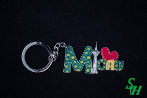 NO. 02010018 Metal Key Ring - Macau Tower