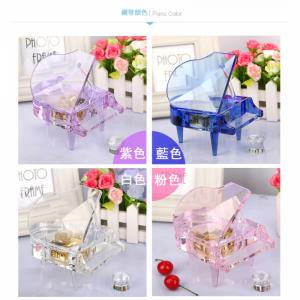 Crystal Piano Music Box - MP3 Movement
