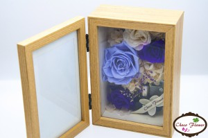 Preserved Flower Music Photo Frame (4R)